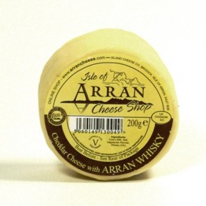 Arran whisky flavoured cheddar cheese