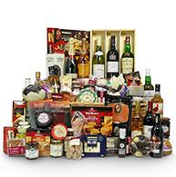 Terrific Scottish Hampers Christmas Hampers Uk Amp Worldwide Delivery Easy Diy Christmas Decorations Tissureus