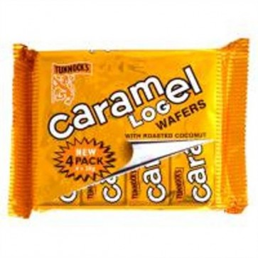 Tunnock's Caramel Logs (4 pack)