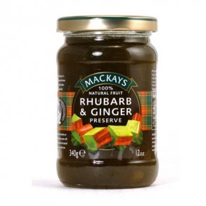 Scottish Rhubarb & Ginger Preserve 340g